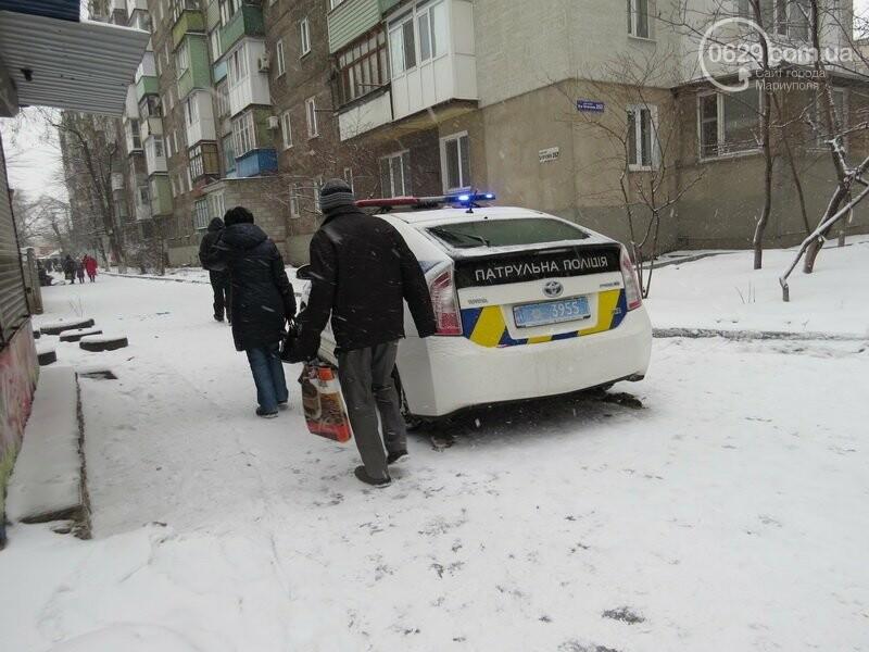 """В Мариуполе """"девятка"""" зацепила такси и попыталась скрыться, - ФОТО, фото-3"""