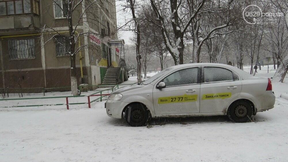"""В Мариуполе """"девятка"""" зацепила такси и попыталась скрыться, - ФОТО, фото-1"""