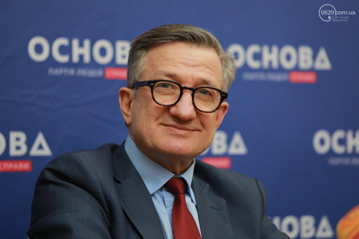 Кандидат в президенты Сергей Тарута начал свою официальную кампанию с визита в Мариуполь , фото-8