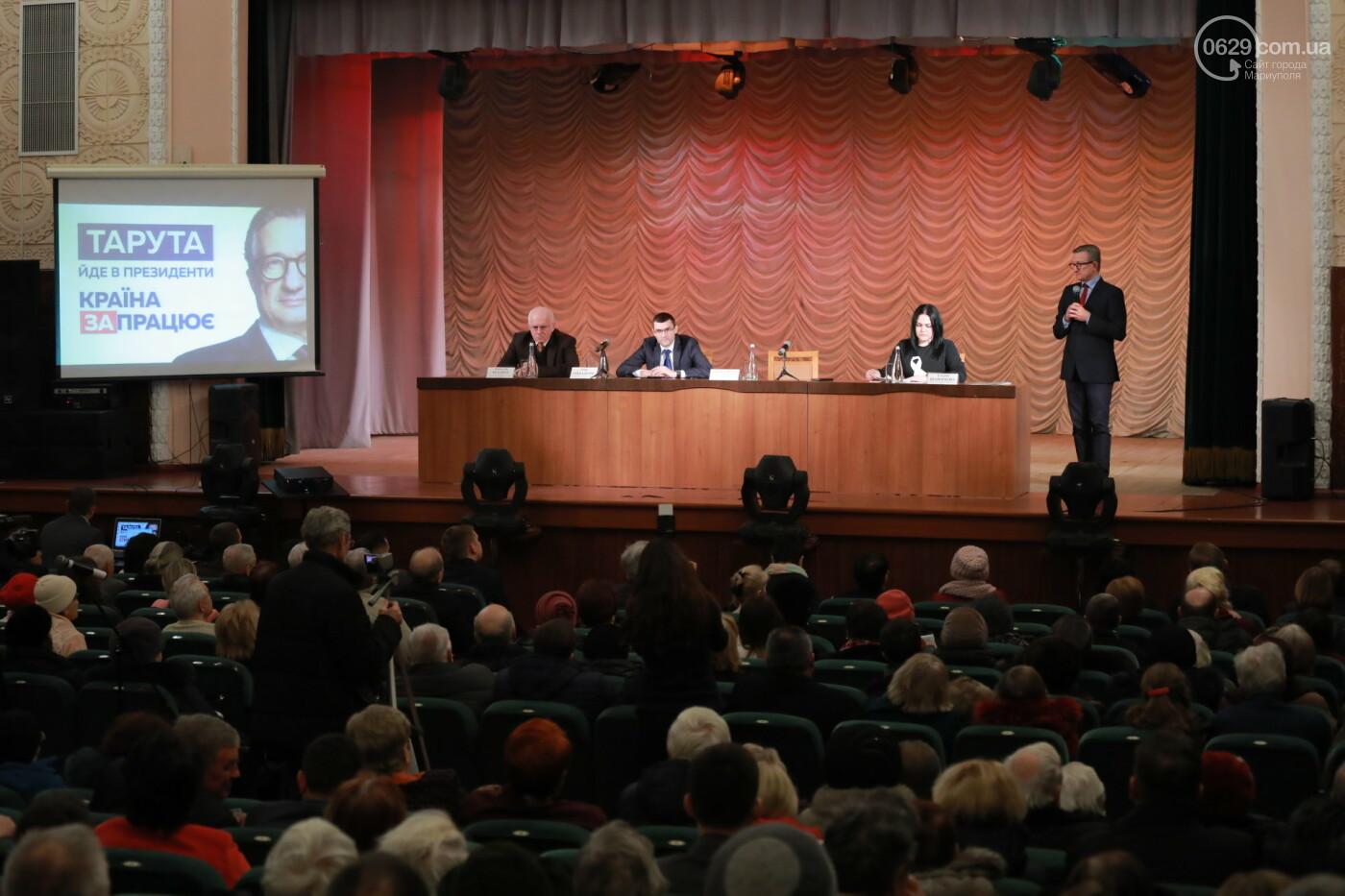 Кандидат в президенты Сергей Тарута начал свою официальную кампанию с визита в Мариуполь , фото-6