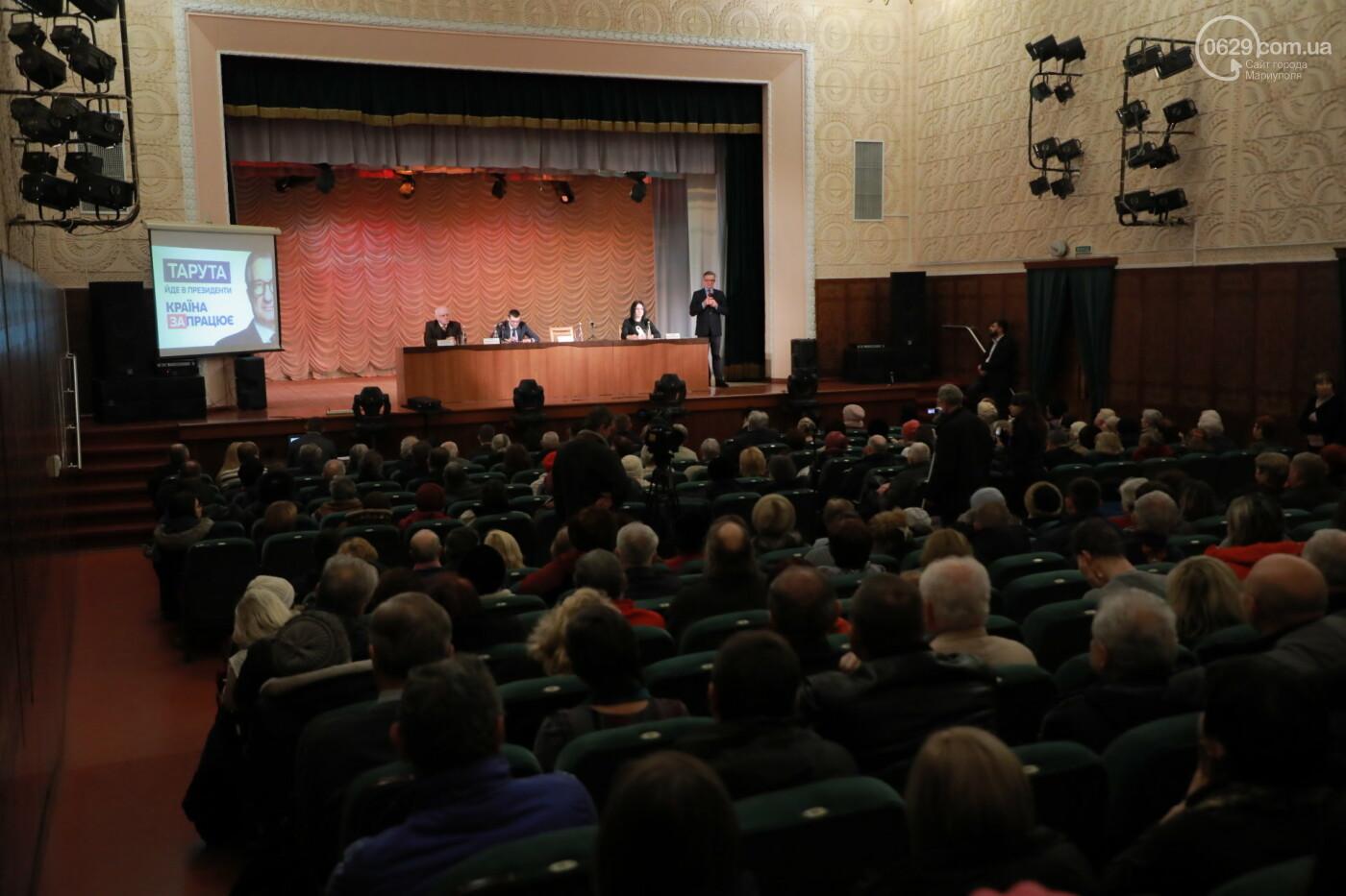 Кандидат в президенты Сергей Тарута начал свою официальную кампанию с визита в Мариуполь , фото-3