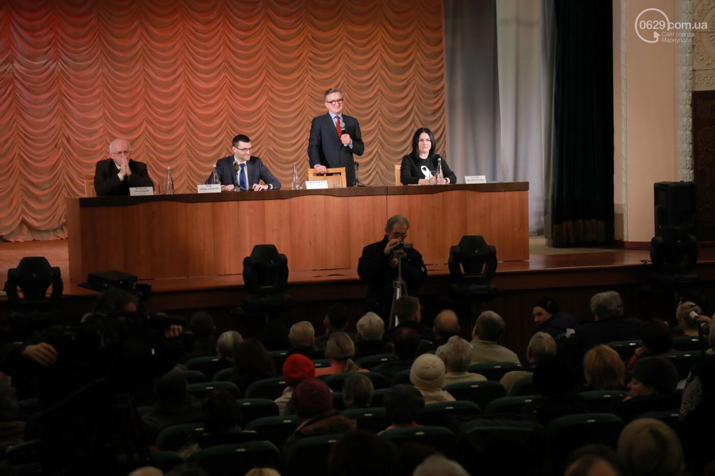 Кандидат в президенты Сергей Тарута начал свою официальную кампанию с визита в Мариуполь , фото-1