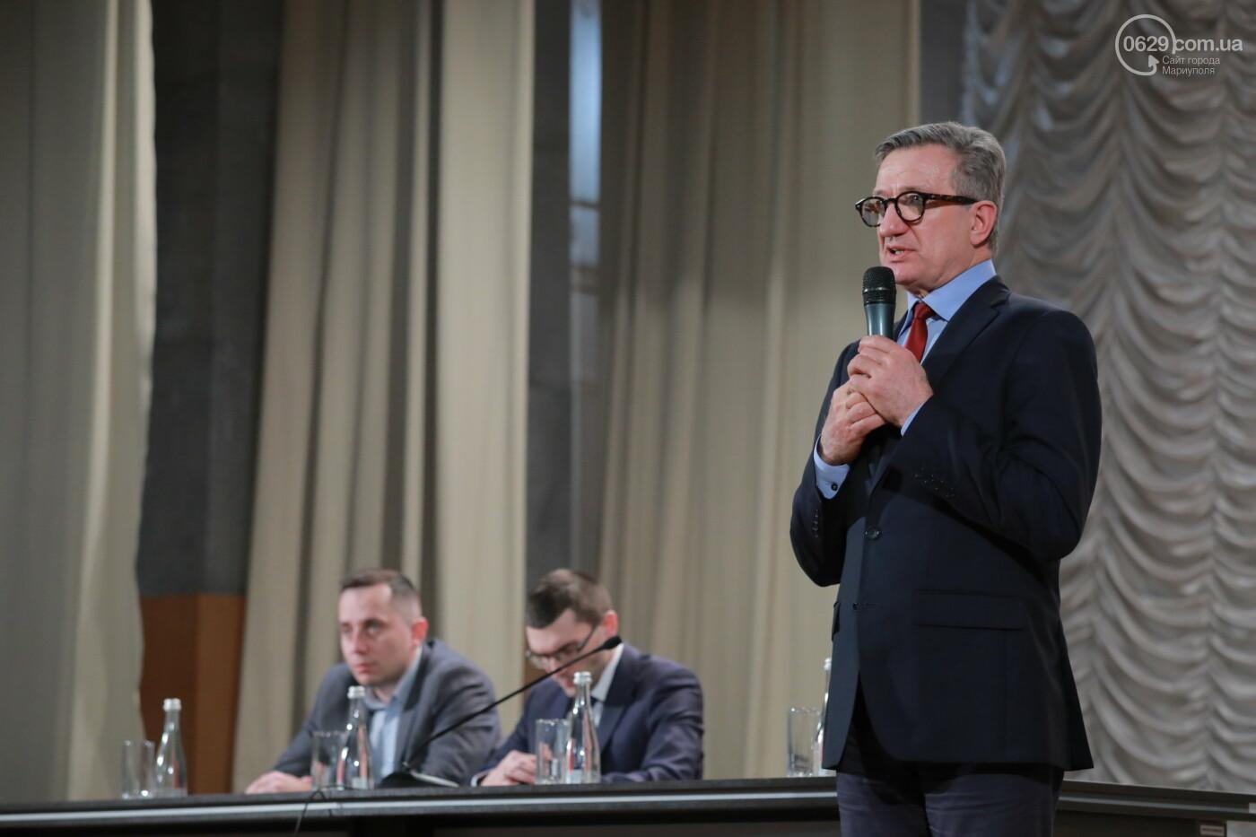 Кандидат в президенты Сергей Тарута начал свою официальную кампанию с визита в Мариуполь , фото-2