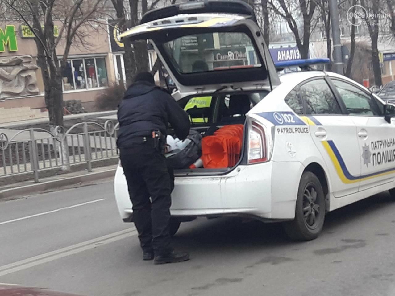 В центре Мариуполя столкнулись BMW и Hyundai, - ФОТО, фото-4