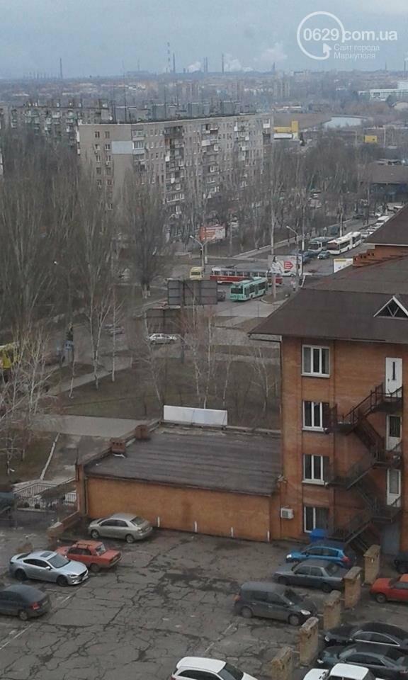 Трамвай на площади Кирова перегородил движение транспорта,- ФОТО, ВИДЕО, фото-1