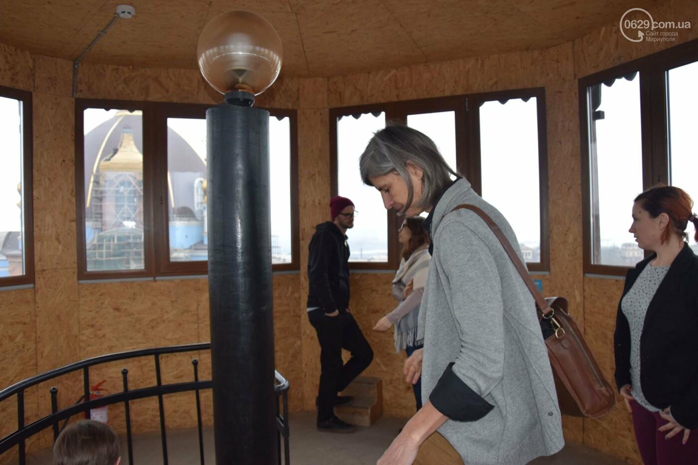 В   Мариуполе немцам показали, как  молодежные инициативы  оживляют  старые здания,- ФОТО, фото-9