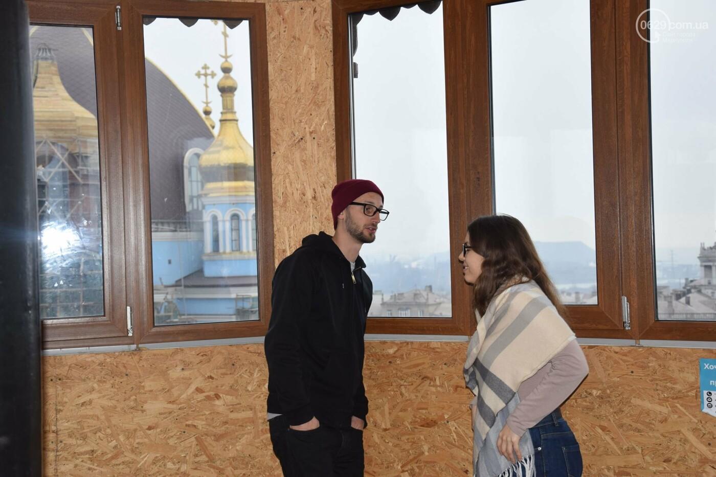 В   Мариуполе немцам показали, как  молодежные инициативы  оживляют  старые здания,- ФОТО, фото-8