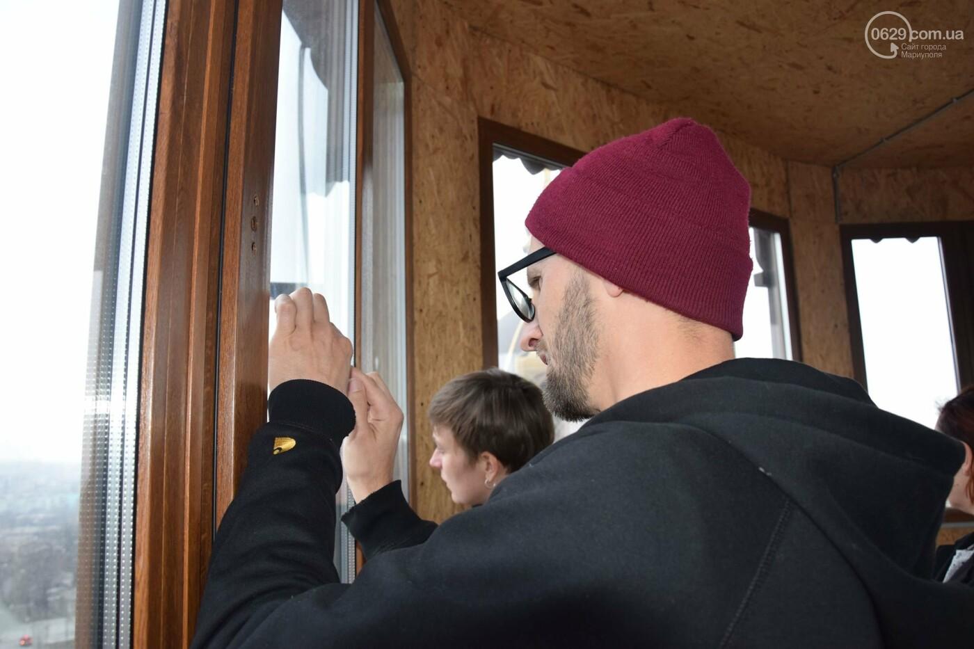 В   Мариуполе немцам показали, как  молодежные инициативы  оживляют  старые здания,- ФОТО, фото-5