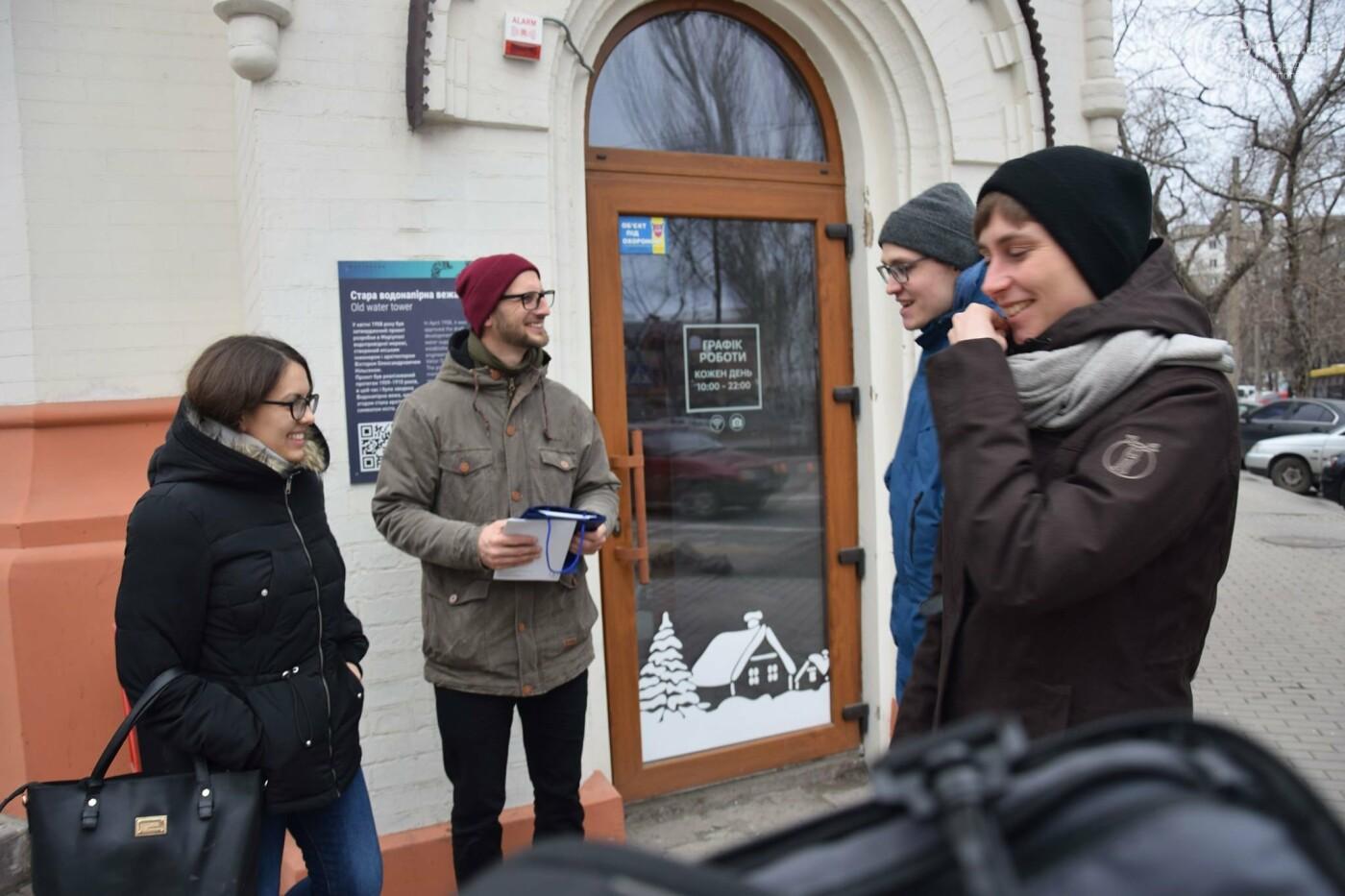 В   Мариуполе немцам показали, как  молодежные инициативы  оживляют  старые здания,- ФОТО, фото-1