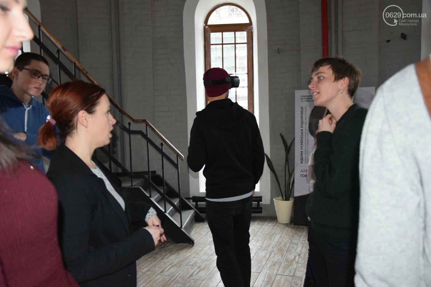 В   Мариуполе немцам показали, как  молодежные инициативы  оживляют  старые здания,- ФОТО, фото-4