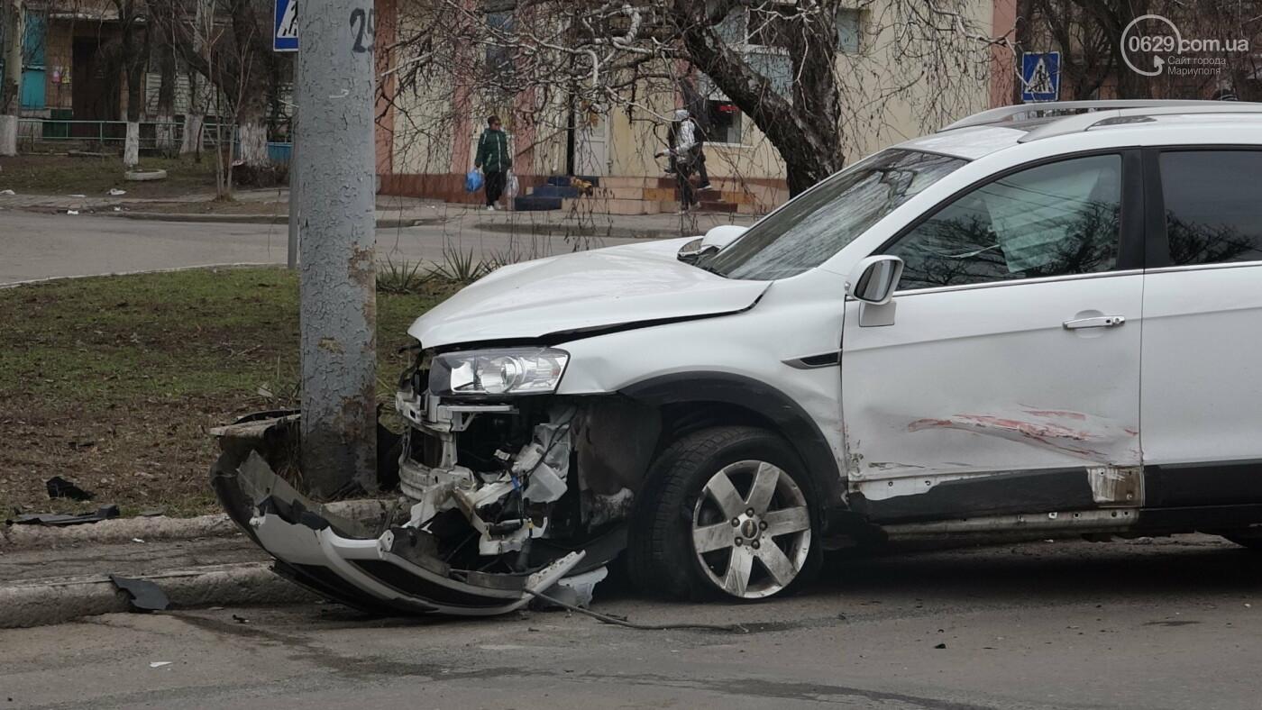 В центре Мариуполя произошло ДТП с пострадавшими, - ФОТО, фото-5