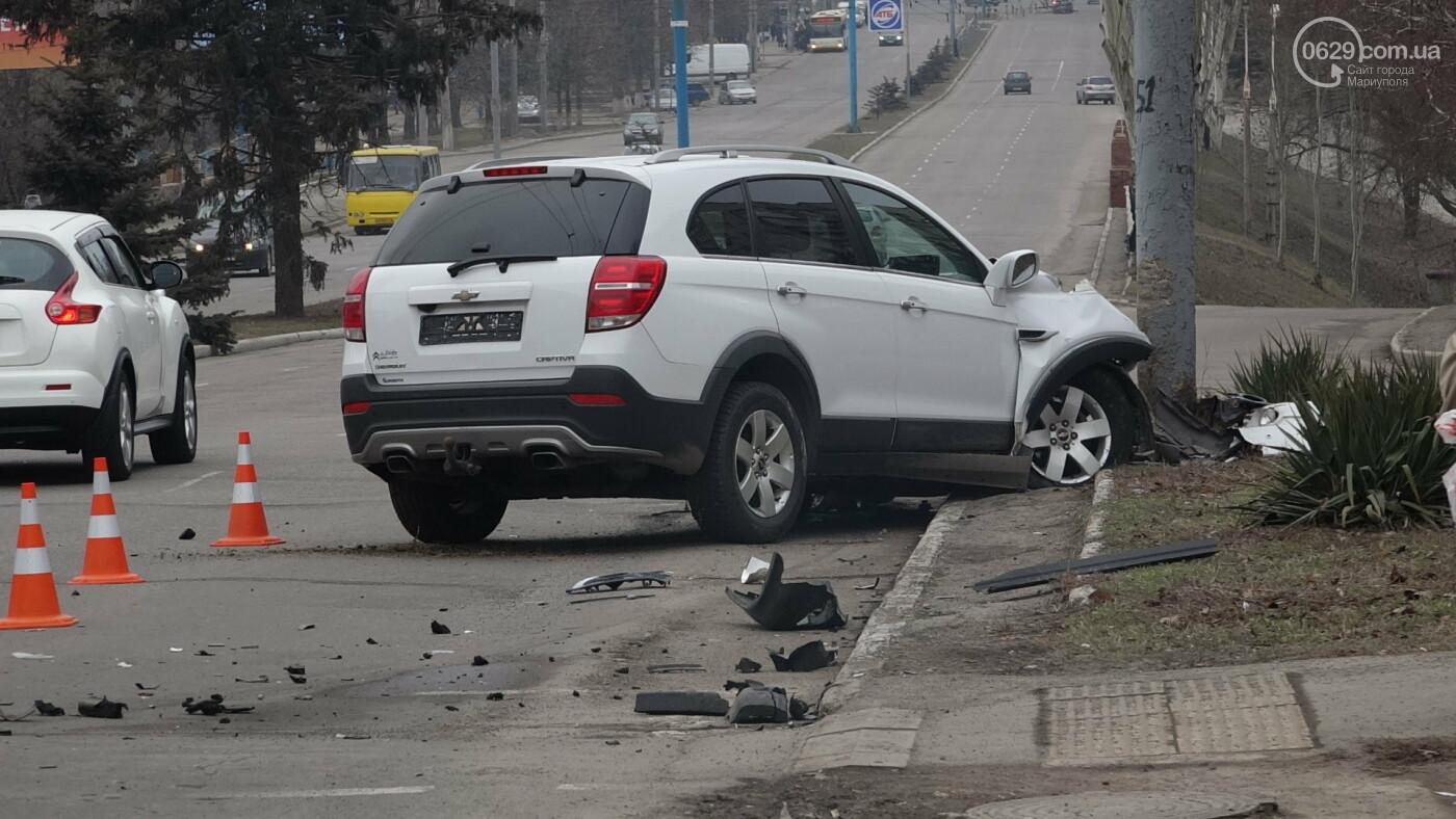 В центре Мариуполя произошло ДТП с пострадавшими, - ФОТО, фото-10