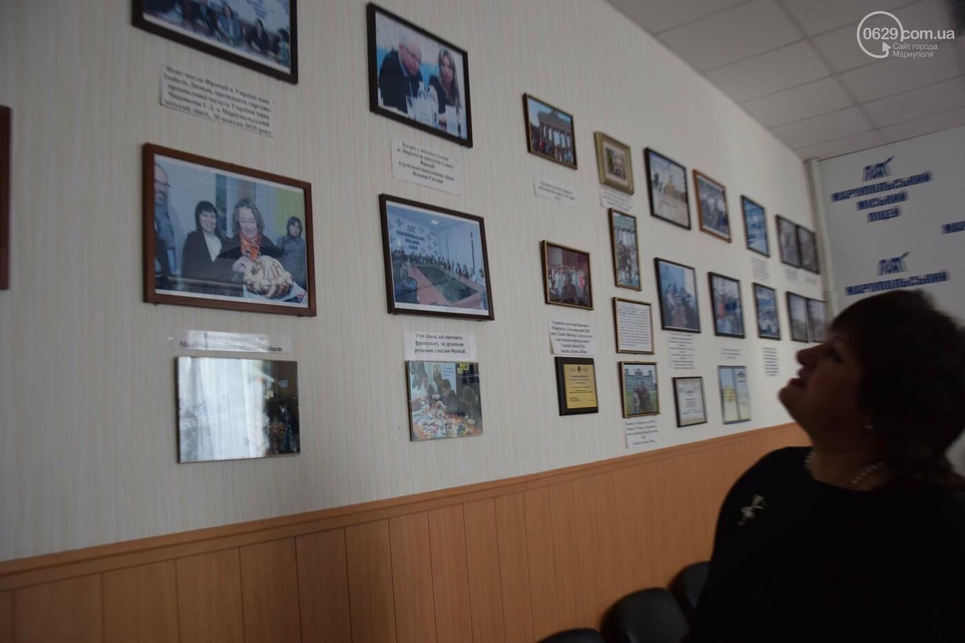Посол Франции в Украине посетила Мариупольский лицей,- ФОТО, ВИДЕО, фото-8