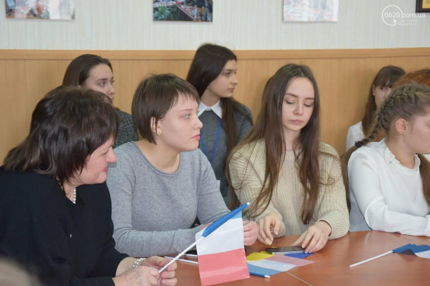 Посол Франции в Украине посетила Мариупольский лицей,- ФОТО, ВИДЕО, фото-7