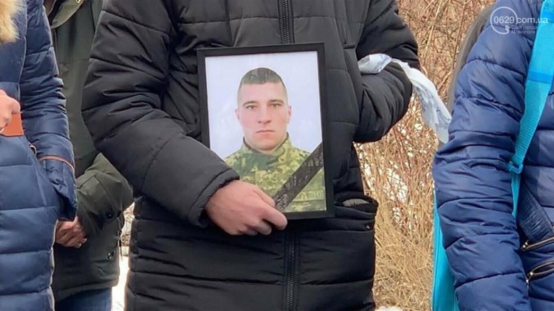 В поселке под Мариуполем похоронили бойца ВСУ,- ФОТО, фото-2