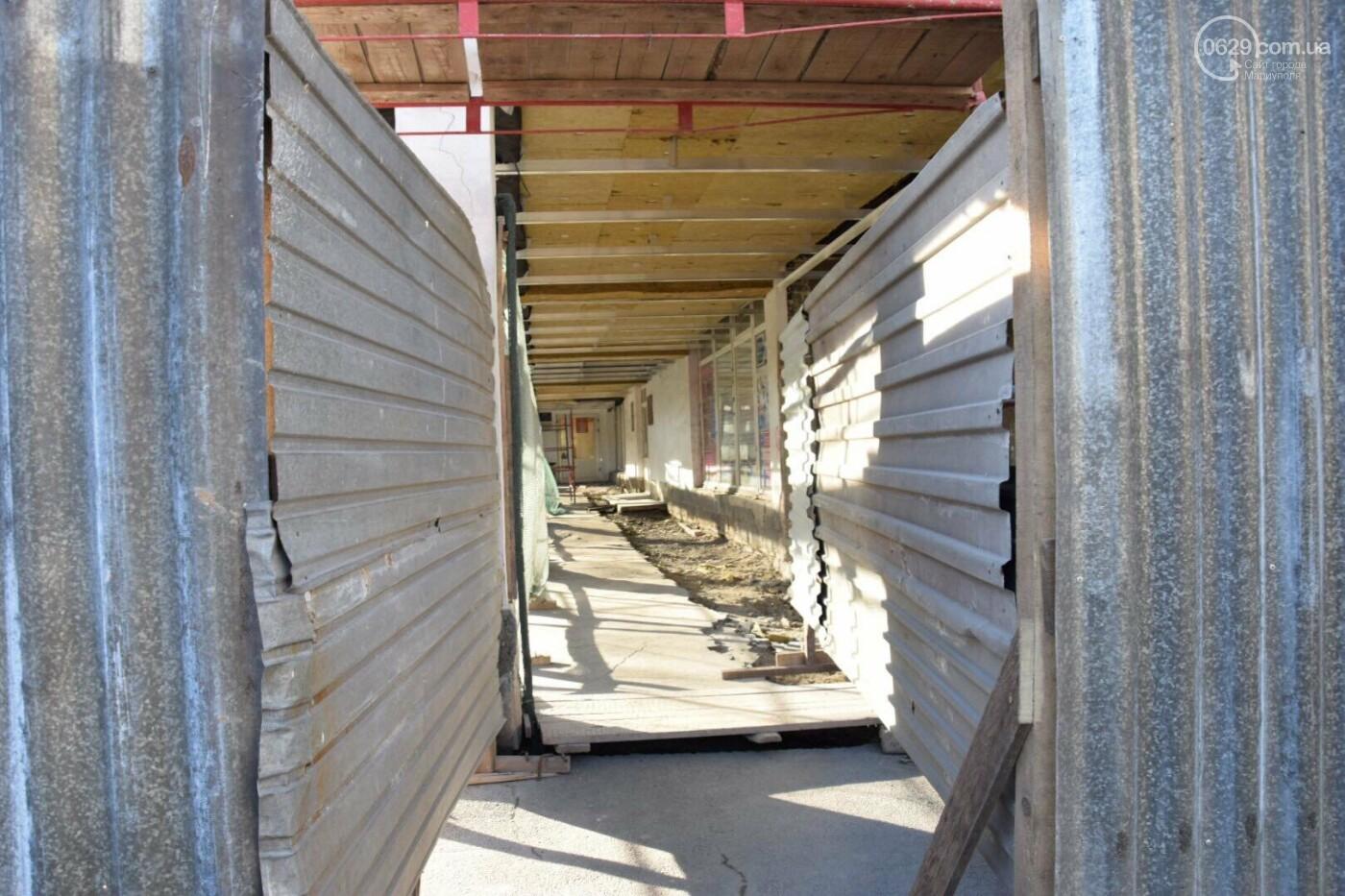 Как проходит ремонт главной библиотеки Мариуполя, - ФОТОРЕПОРТАЖ, фото-1