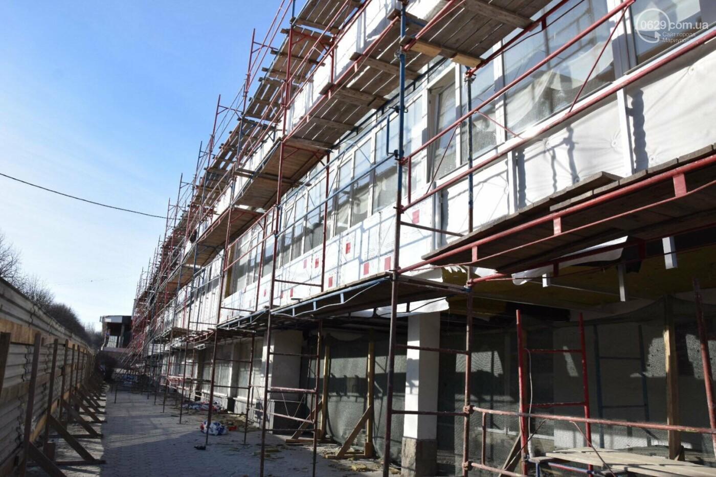 Как проходит ремонт главной библиотеки Мариуполя, - ФОТОРЕПОРТАЖ, фото-2