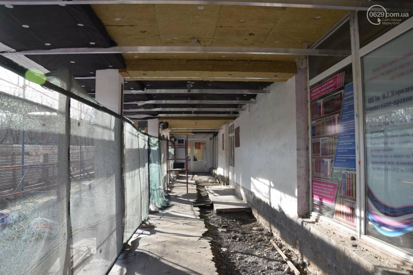 Как проходит ремонт главной библиотеки Мариуполя, - ФОТОРЕПОРТАЖ, фото-9