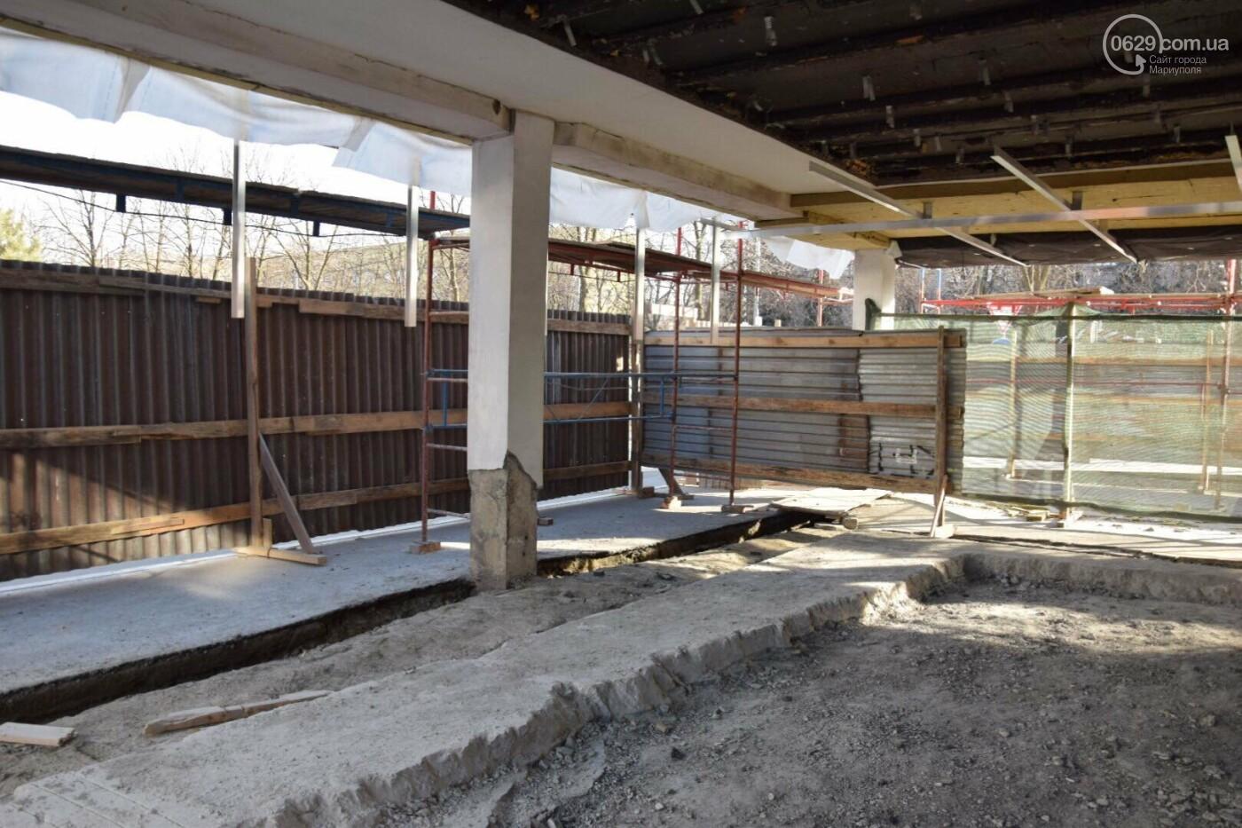 Как проходит ремонт главной библиотеки Мариуполя, - ФОТОРЕПОРТАЖ, фото-8