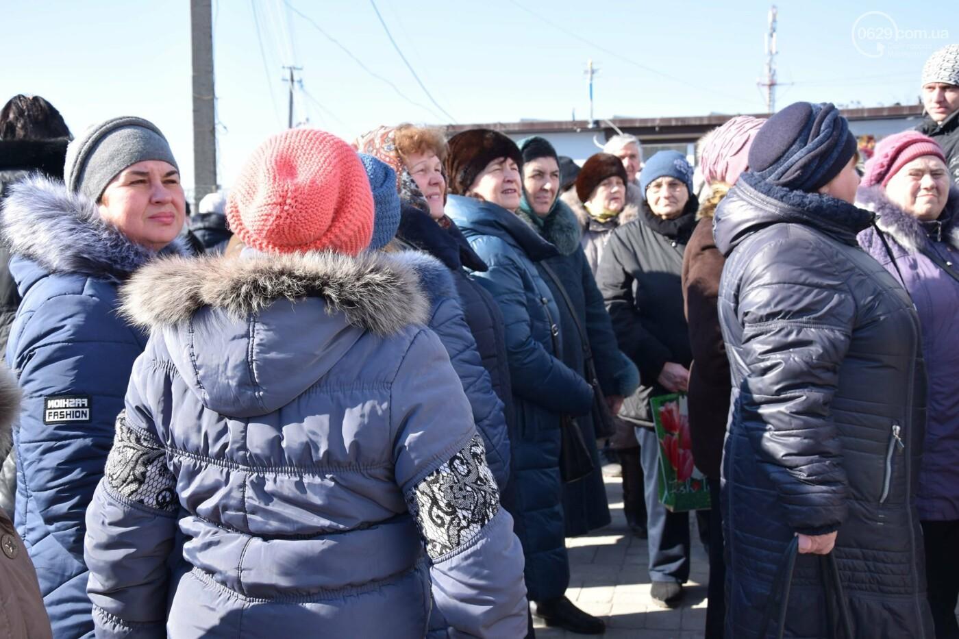 """На """"Восточном"""" жители Широкино получили продуктовые наборы,- ФОТО, ВИДЕО, фото-5"""