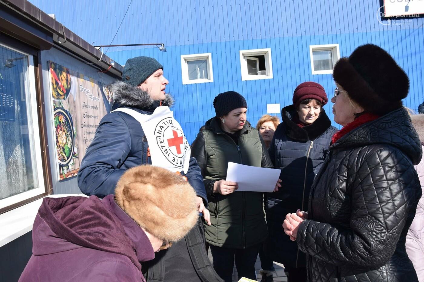 """На """"Восточном"""" жители Широкино получили продуктовые наборы,- ФОТО, ВИДЕО, фото-12"""