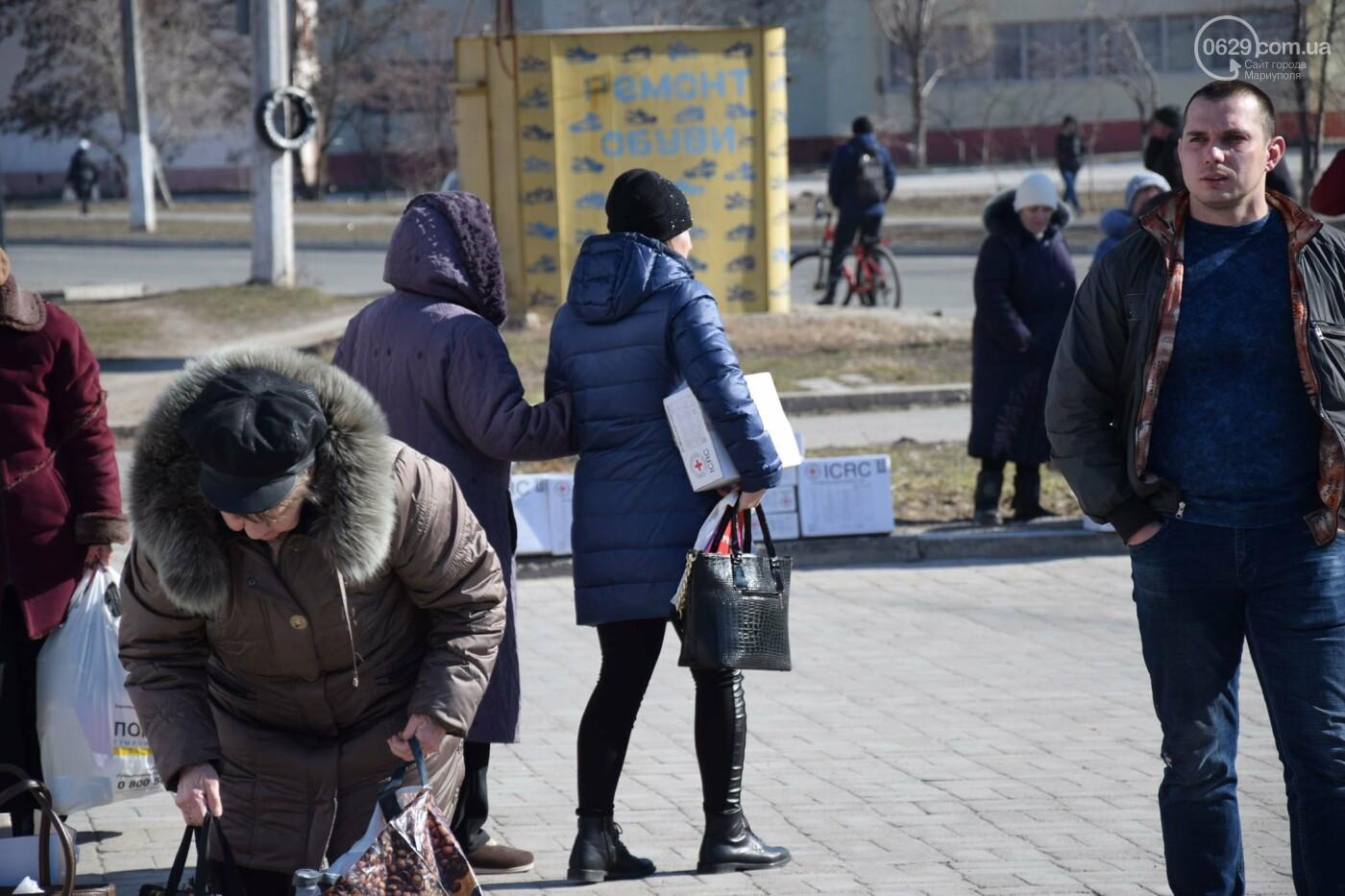 """На """"Восточном"""" жители Широкино получили продуктовые наборы,- ФОТО, ВИДЕО, фото-1"""