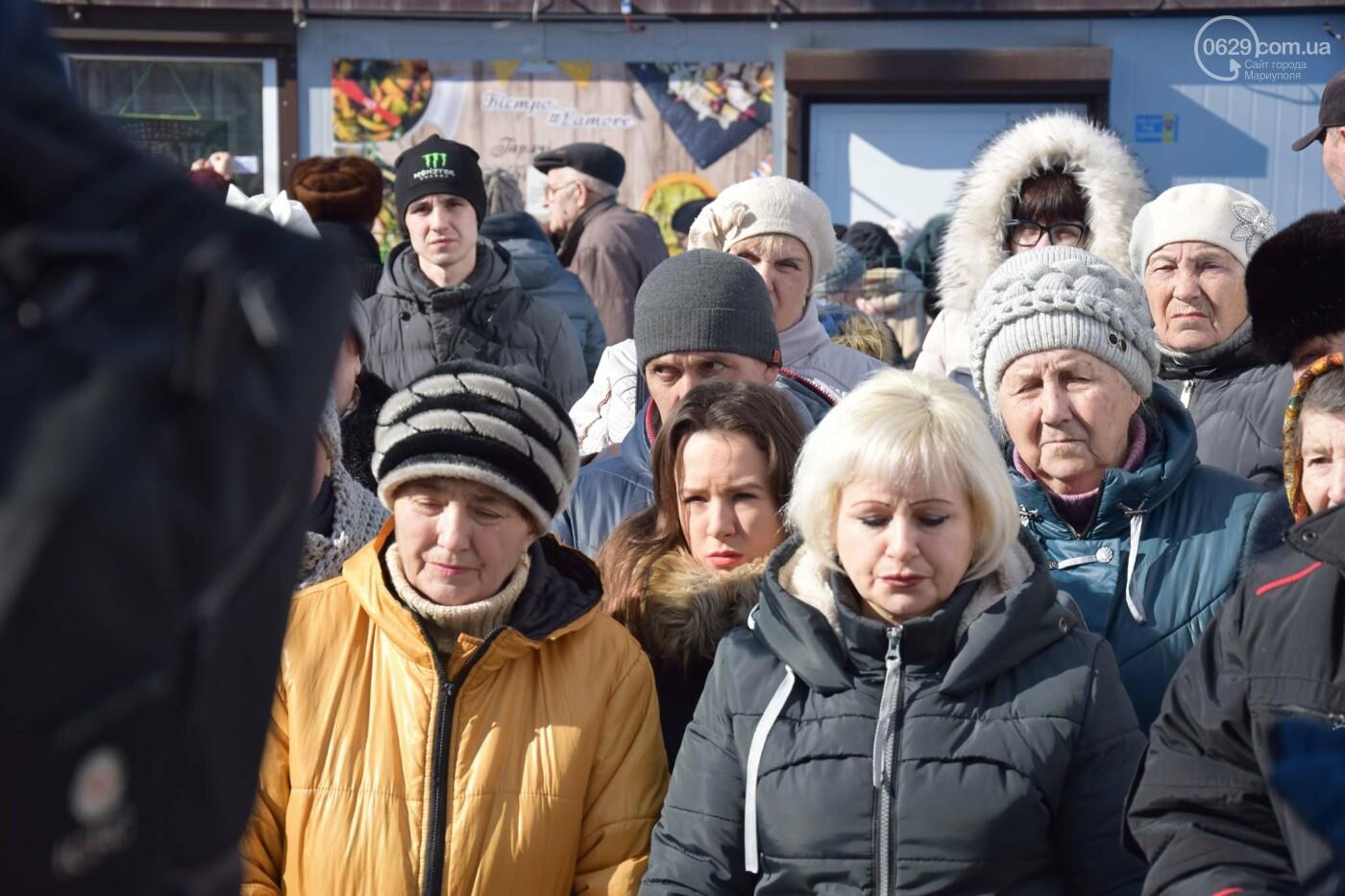 """На """"Восточном"""" жители Широкино получили продуктовые наборы,- ФОТО, ВИДЕО, фото-4"""
