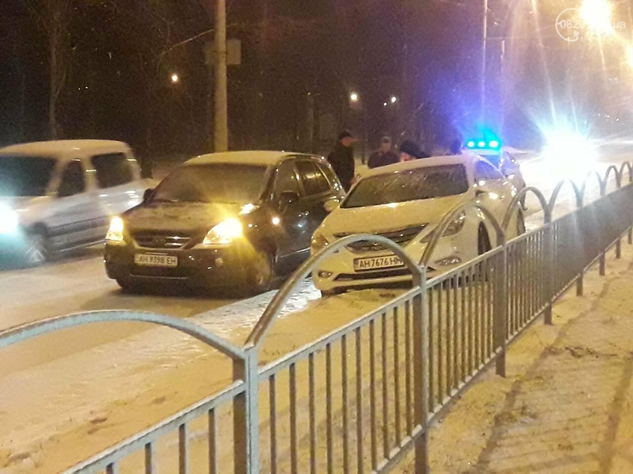В Мариуполе с начала снегопада произошло 8 ДТП, - ФОТО, фото-1