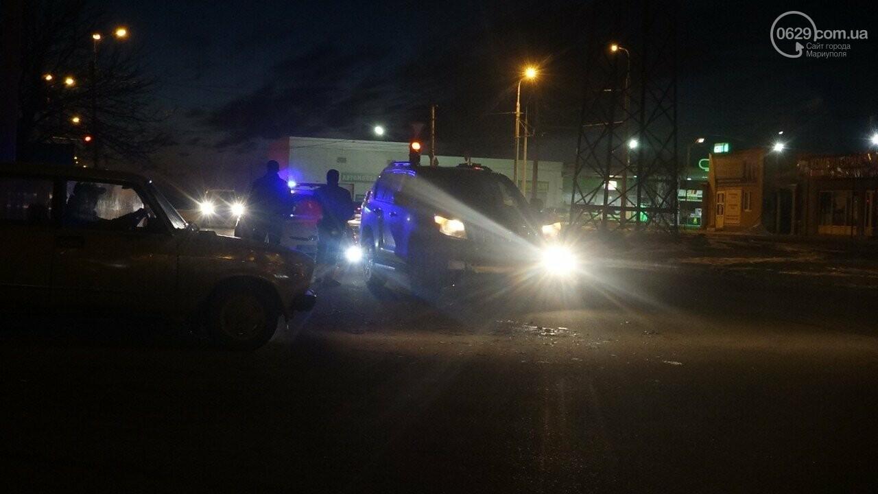 """В Мариуполе столкнулись """"Suzuki"""" и """"Toyota Land Cruiser"""", - ФОТО, фото-8"""