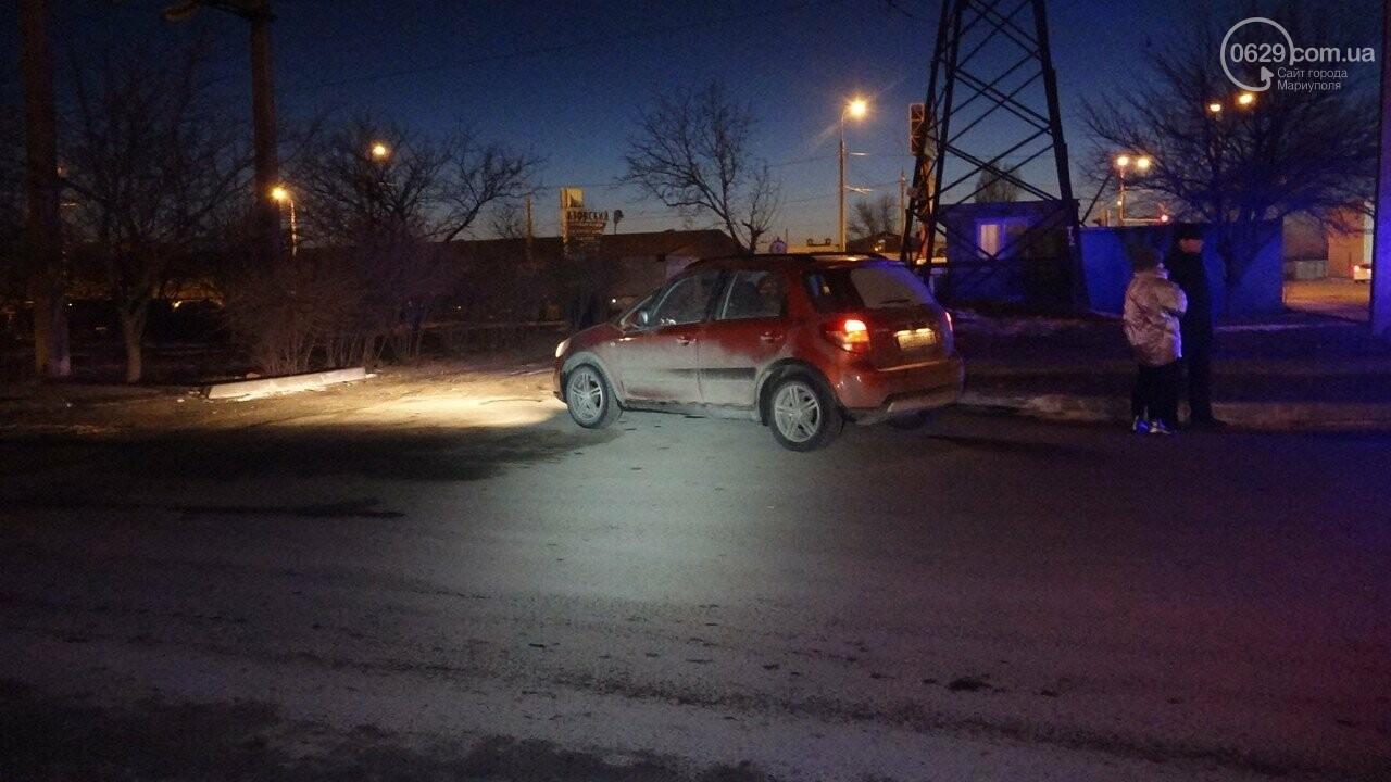 """В Мариуполе столкнулись """"Suzuki"""" и """"Toyota Land Cruiser"""", - ФОТО, фото-9"""