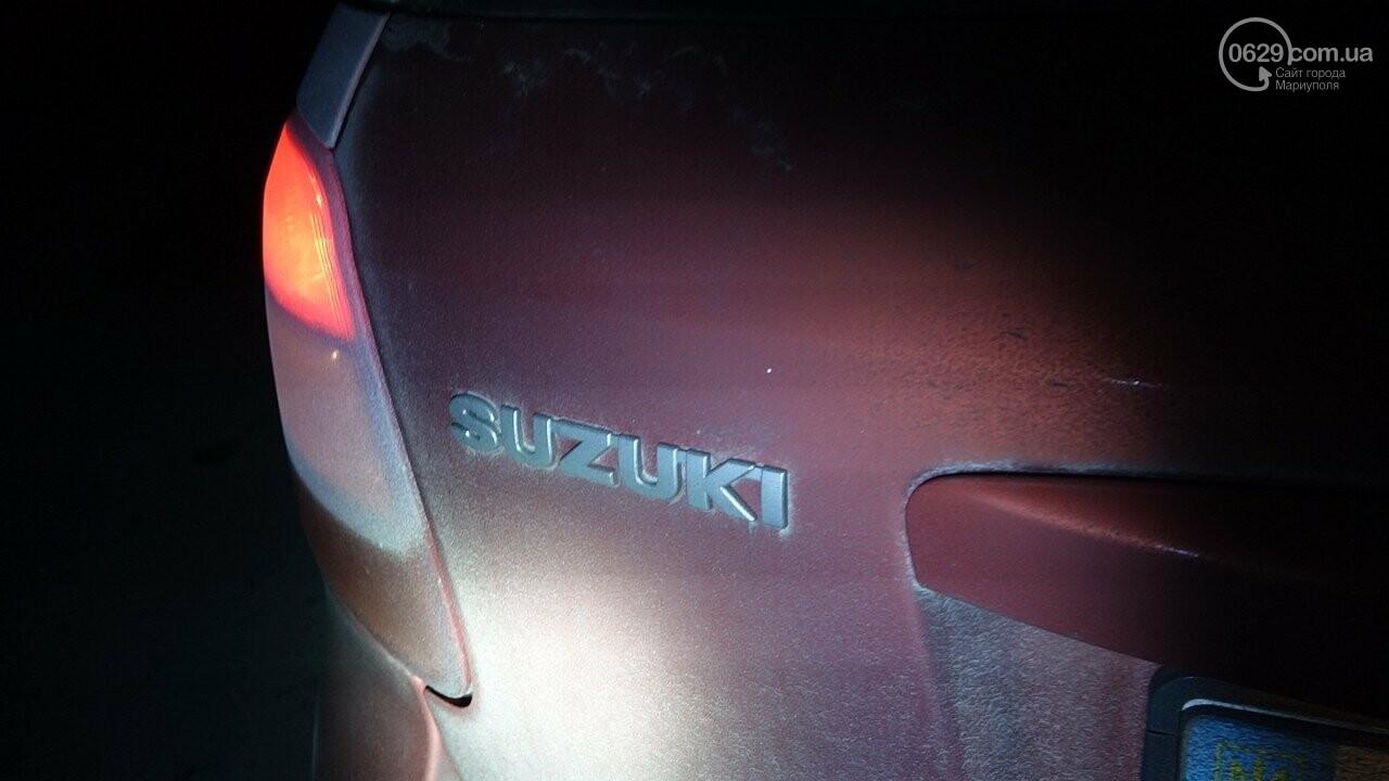 """В Мариуполе столкнулись """"Suzuki"""" и """"Toyota Land Cruiser"""", - ФОТО, фото-4"""