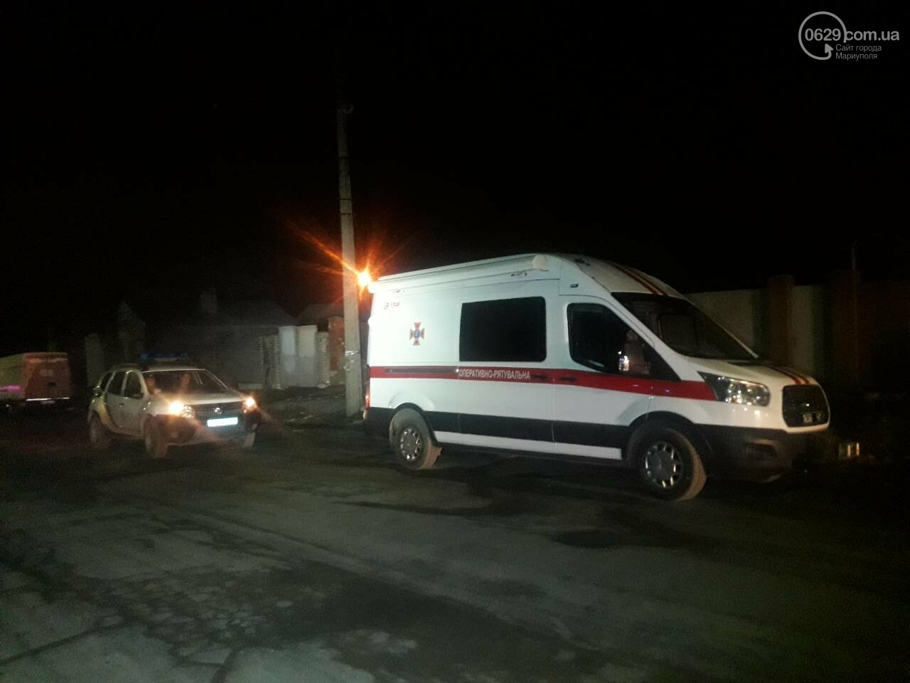 В Мариуполе горит баня военной комендатуры, - ФОТО, фото-4