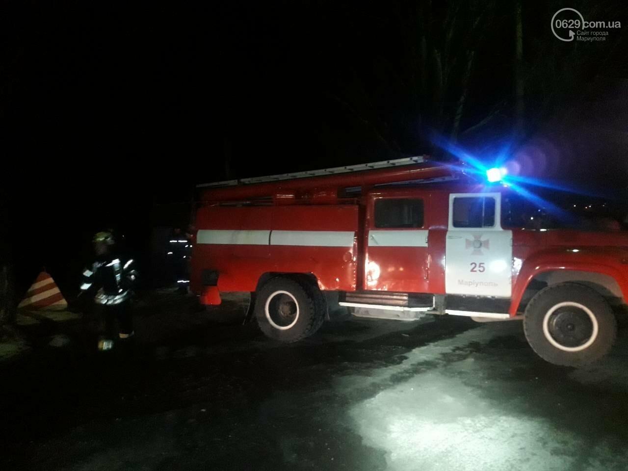 В Мариуполе горит баня военной комендатуры, - ФОТО, фото-3