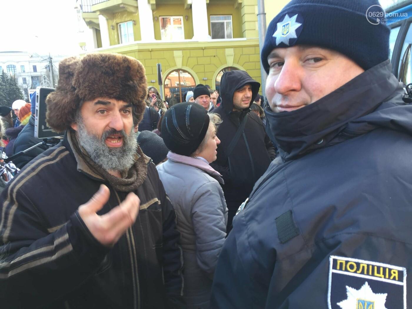 Мариупольцы митингуют против повышения тарифов на проезд, - ФОТО, ВИДЕО, Дополняется, фото-4