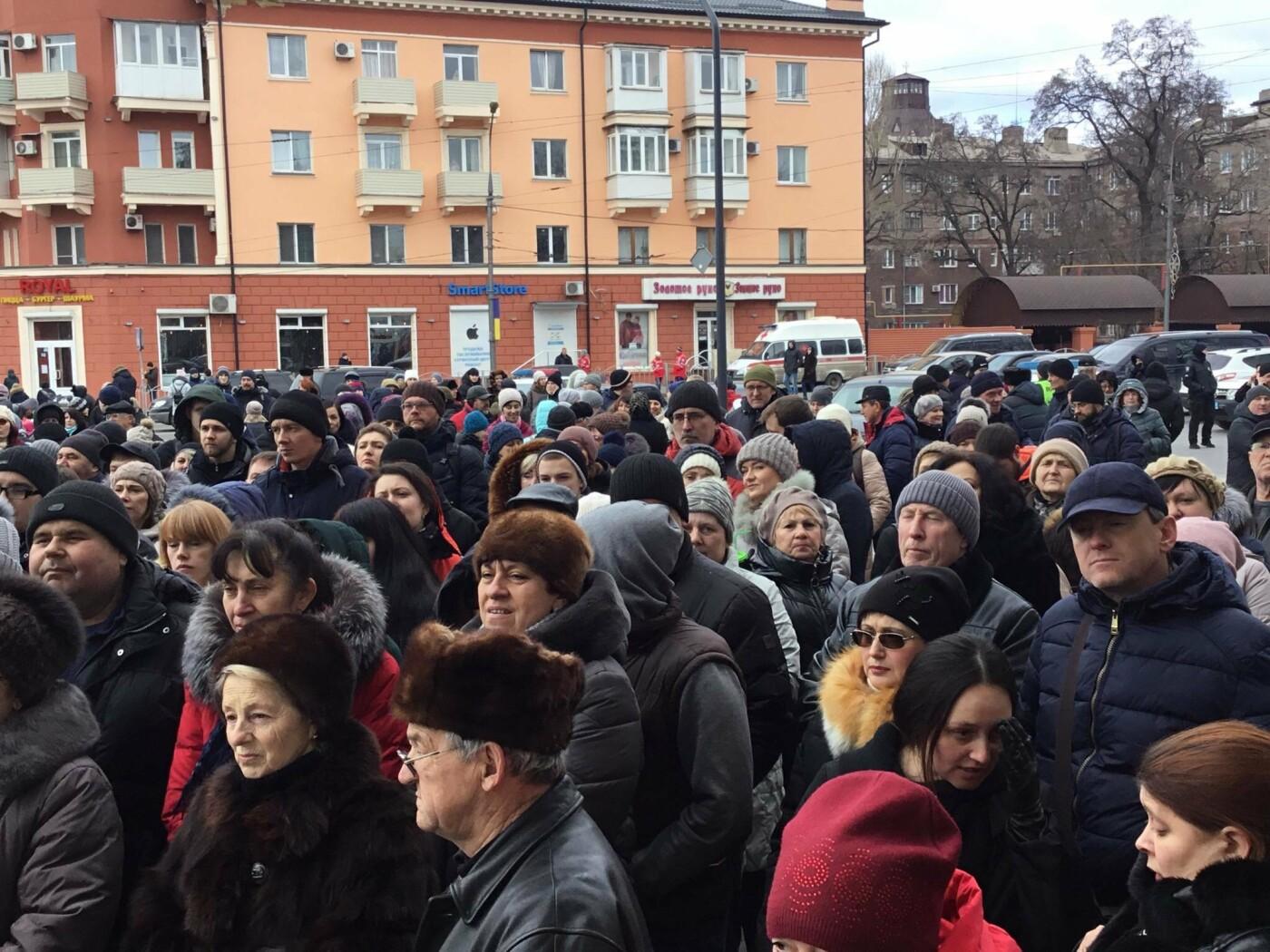 Мариупольцы митингуют против повышения тарифов на проезд, - ФОТО, ВИДЕО, Дополняется, фото-6