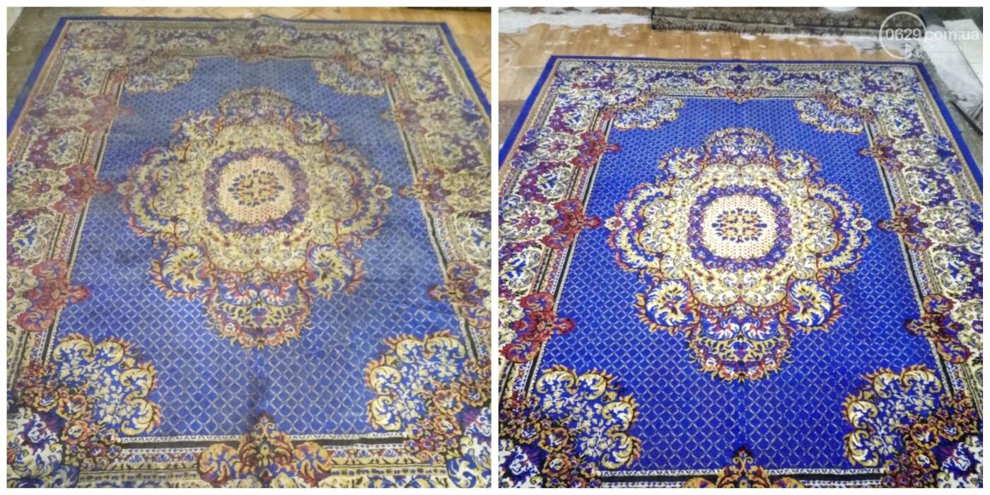 Стирка ковров в Мариуполе, химчистка мягкой мебели от компании «CLEAN MASTER» на дому, а также с вывозом и доставкой. Химчистка недорого, фото-7