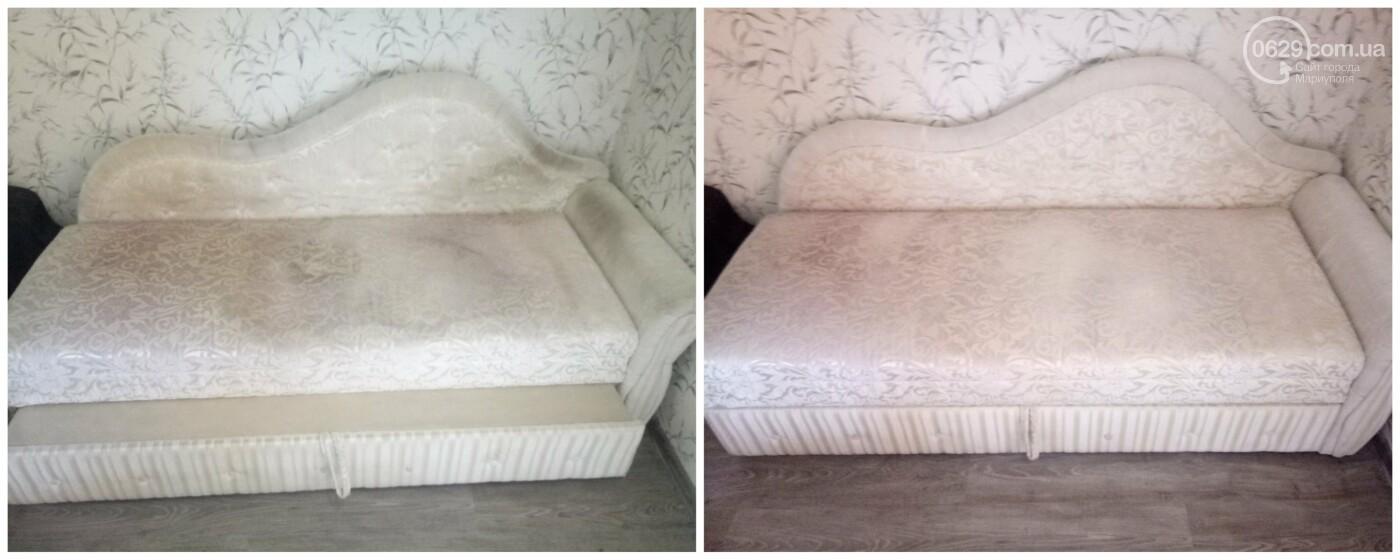 Стирка ковров в Мариуполе, химчистка мягкой мебели от компании «CLEAN MASTER» на дому, а также с вывозом и доставкой. Химчистка недорого, фото-10