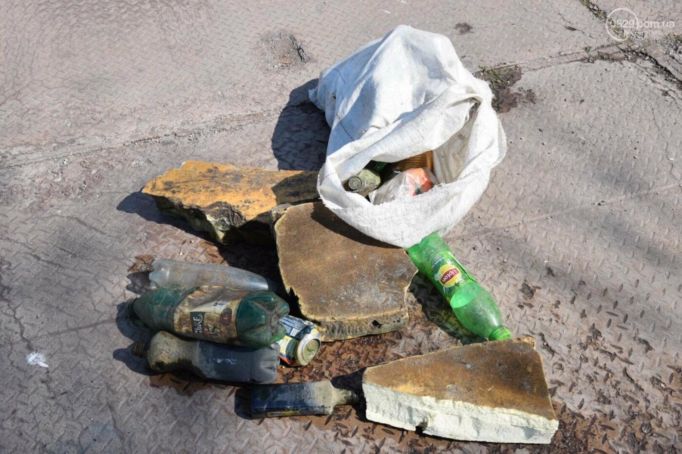 В Мариуполе водолазы очищают Кальчик от пластикового мусора, - ФОТОРЕПОРТАЖ, ВИДЕО, фото-16