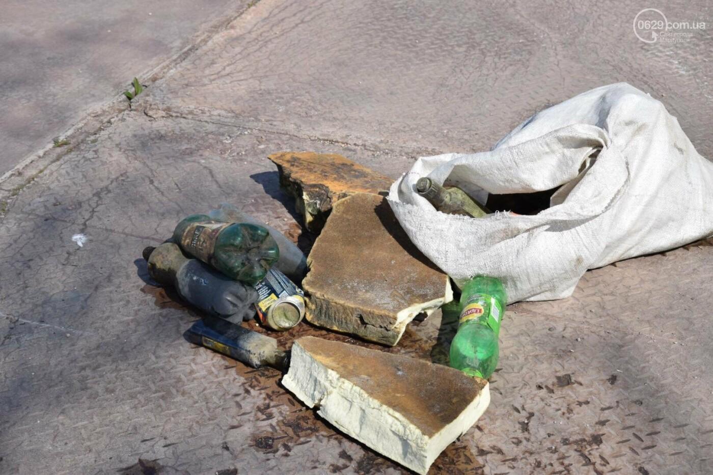 В Мариуполе водолазы очищают Кальчик от пластикового мусора, - ФОТОРЕПОРТАЖ, ВИДЕО, фото-18