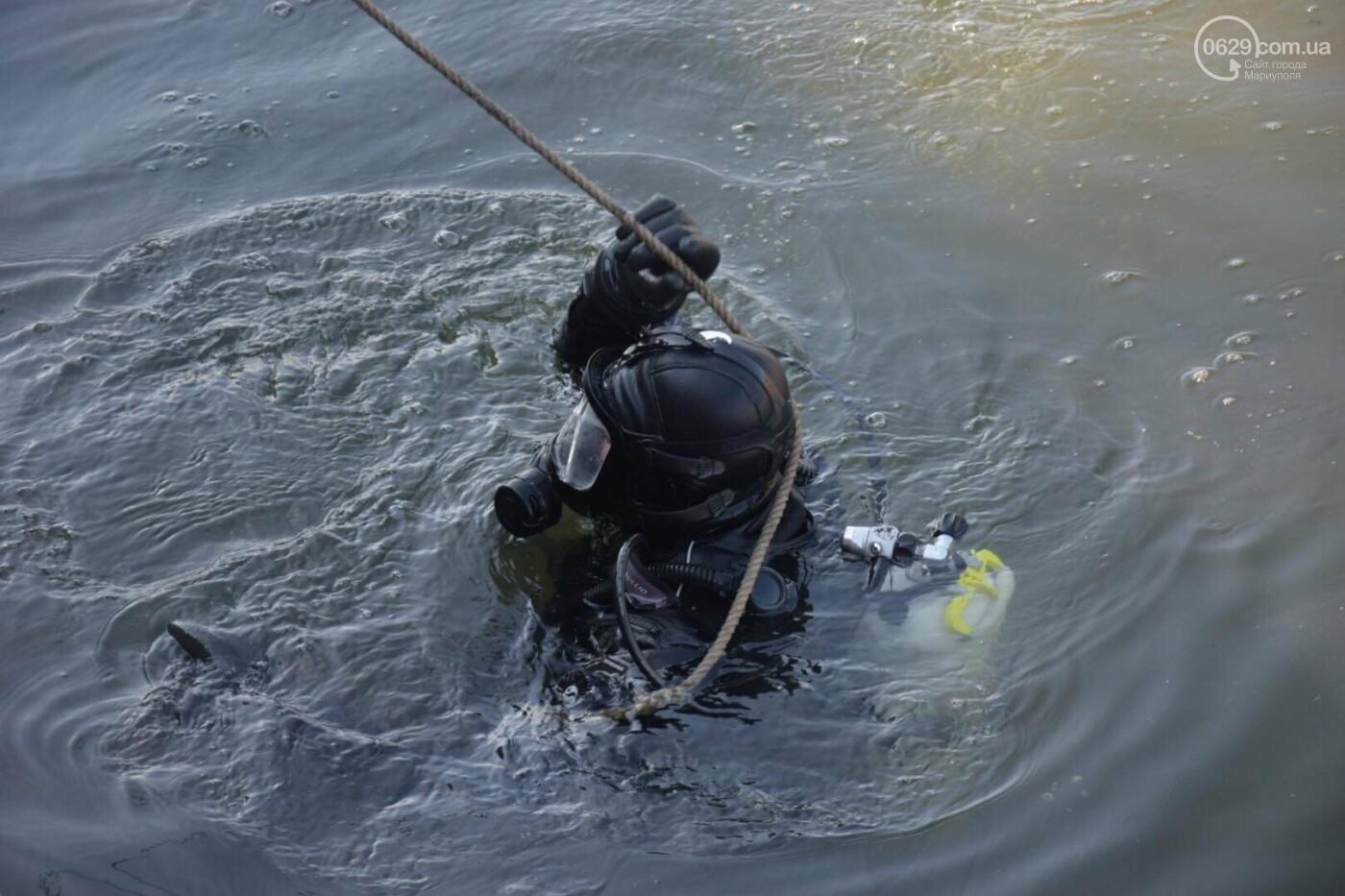 В Мариуполе водолазы очищают Кальчик от пластикового мусора, - ФОТОРЕПОРТАЖ, ВИДЕО, фото-2