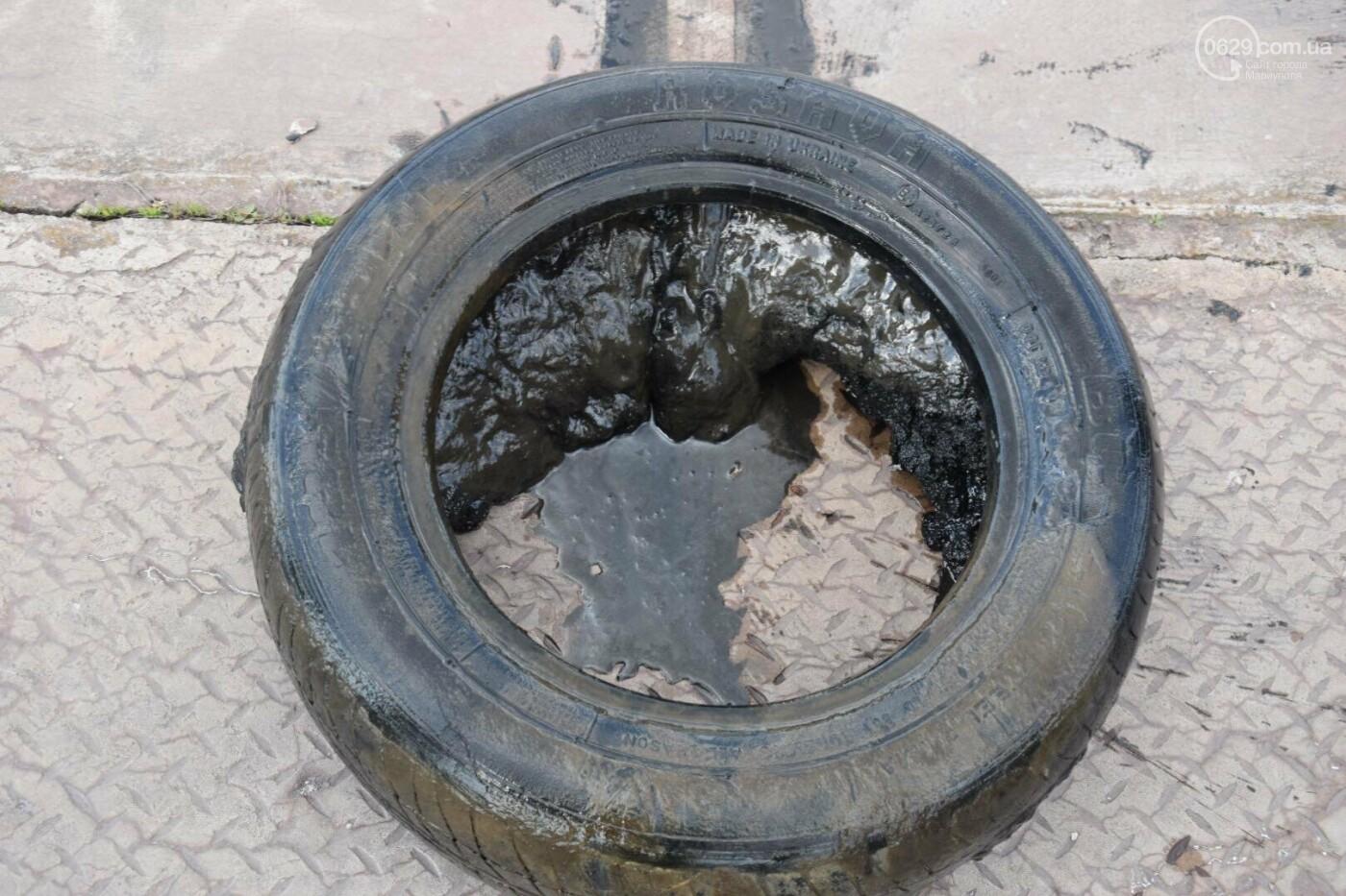 В Мариуполе водолазы очищают Кальчик от пластикового мусора, - ФОТОРЕПОРТАЖ, ВИДЕО, фото-5