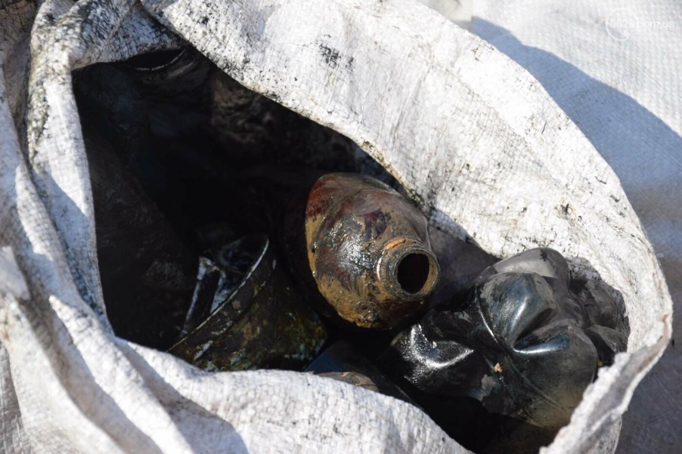 В Мариуполе водолазы очищают Кальчик от пластикового мусора, - ФОТОРЕПОРТАЖ, ВИДЕО, фото-28
