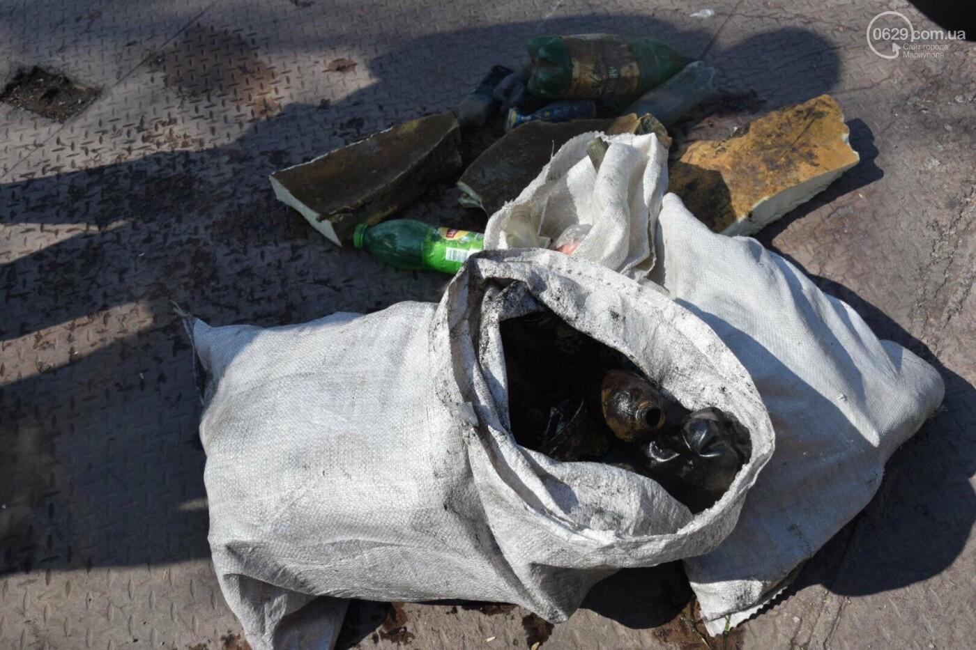 В Мариуполе водолазы очищают Кальчик от пластикового мусора, - ФОТОРЕПОРТАЖ, ВИДЕО, фото-32