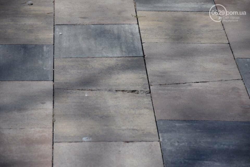 Город против драмтеатра. Кто разломал новую плитку в Мариуполе, и кто будет ее восстанавливать, - ФОТО, ВИДЕО, фото-14