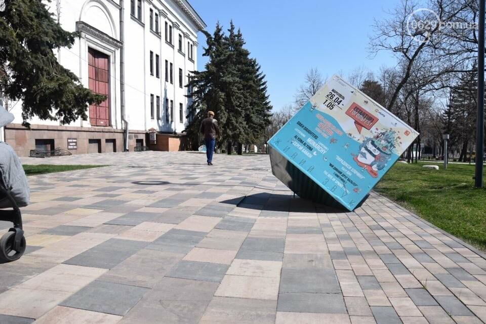 Город против драмтеатра. Кто разломал новую плитку в Мариуполе, и кто будет ее восстанавливать, - ФОТО, ВИДЕО, фото-18