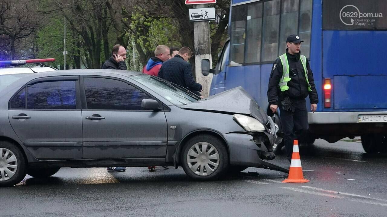 В Мариуполе столкнулись «Митсубиси» и «Джили». Есть пострадавший, - ФОТО, фото-4