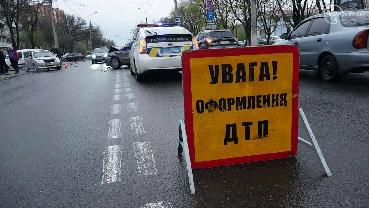 В Мариуполе столкнулись «Митсубиси» и «Джили». Есть пострадавший, - ФОТО, фото-14