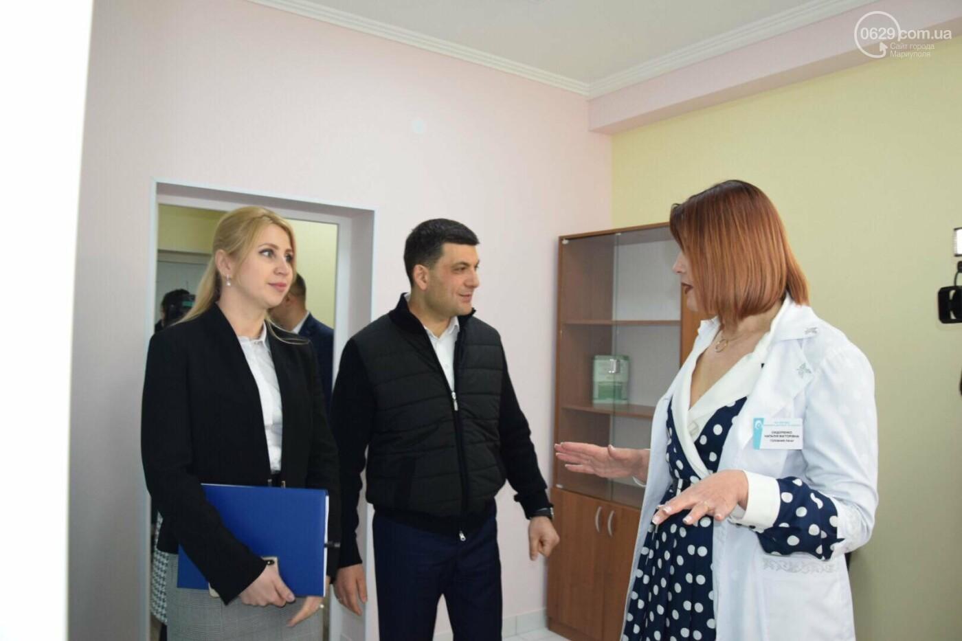 В Мариуполе Владимир Гройсман открыл детскую поликлинику и познакомился с Сережей, - ФОТОРЕПОРТАЖ, ВИДЕО, фото-31