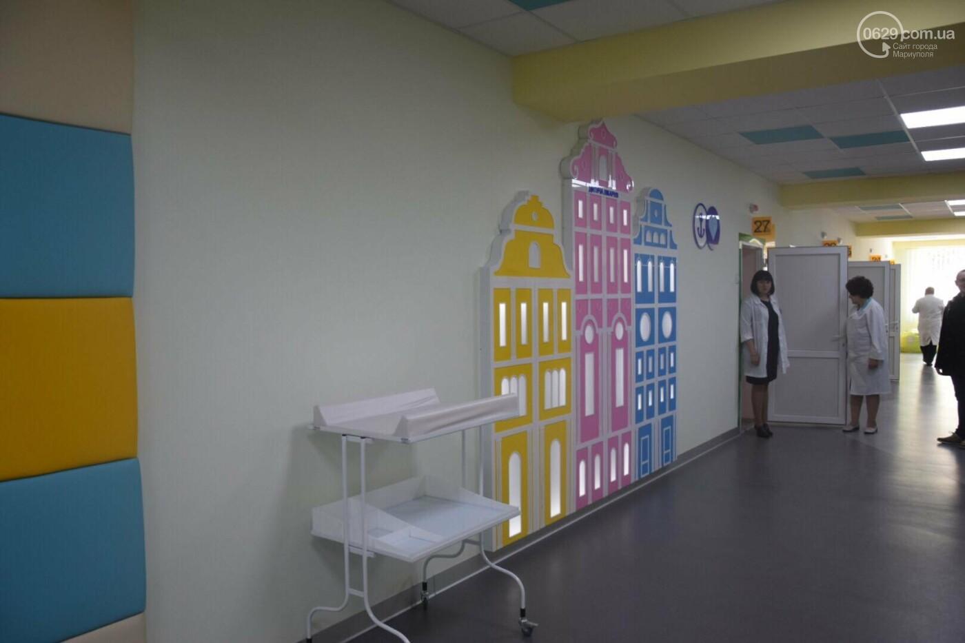 В Мариуполе Владимир Гройсман открыл детскую поликлинику и познакомился с Сережей, - ФОТОРЕПОРТАЖ, ВИДЕО, фото-3