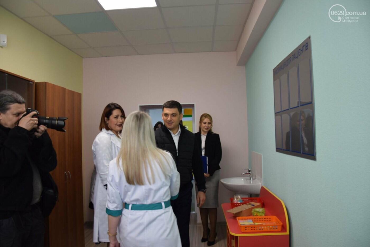 В Мариуполе Владимир Гройсман открыл детскую поликлинику и познакомился с Сережей, - ФОТОРЕПОРТАЖ, ВИДЕО, фото-52
